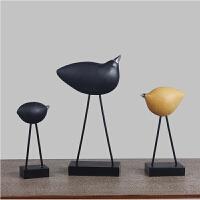 创意摆件现代简约家居小鸟艺术装饰品客厅电视柜玄关酒柜动物摆件