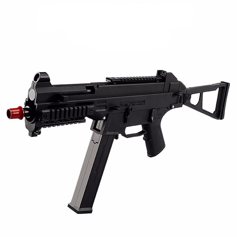 绝地吃鸡UMP45下供弹水珠蛋电动连发冲锋枪真人CS对战枪ump45儿童玩具枪1儿童节礼物 UMP45尼龙外壳