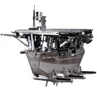 3D金属拼装模型 军事飞机坦克机甲辽宁号航空母舰