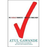 【预订】The Checklist Manifesto: How to Get Things Right