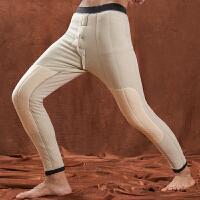 加厚棉裤男高腰护膝冬季东北羊毛裤内穿男式宽松弹力中老年保暖裤