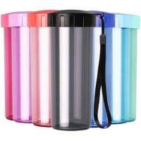 特百惠水杯 莹彩430随手杯便携防漏简约塑料男女学生儿童运动杯子