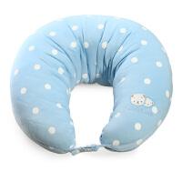 贝亲多功能月亮形U型哺乳枕头授乳枕 婴儿孕妇枕头 喂奶枕哺乳垫
