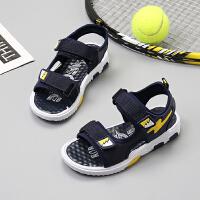 男童凉鞋新款夏季小童中大童小孩童鞋男孩儿童沙滩鞋子潮