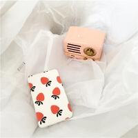 创意水果清新可爱自带线双线充电宝安卓苹果通用便携移动电源