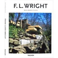 F.L.WRIGHT 精选薄本 建筑大师 赖特 作品精选 建筑设计书籍