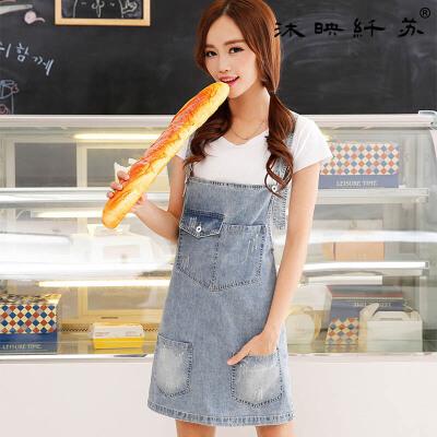春季新款牛仔背带裙韩版显瘦牛仔裙学生装连身裙