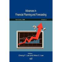 【预订】Advances in Financial Planning and Forecasting Y9789868