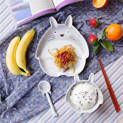 餐具套装龙猫三件套碗盘卡通家用餐具中国风单人碗碟套 发货周期:一般在付款后2-90天左右发货,具体发货时间请以与客服协商的时间为准