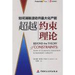 【正版现货】约束理论 (美)莱文森,任建标 9787509518335 中国财政经济出版社一