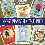 【预订】Vintage Japanese Silk Trade Labels [With CDROM]