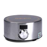 办公室银色电陶炉茶炉家用电热茶炉泡茶煮茶具迷你煮茶小型茶炉 银色