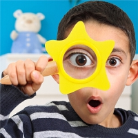 儿童科学实验放大镜玩具男孩望远镜高清幼儿园小小科学家学生女孩