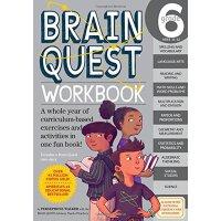 Brain Quest Workbook: Grade 6 少儿智力开发系列:6年级练习册【英文原版童书 小学生全科练