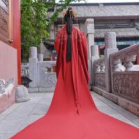 婚嫁男女周制秦汉婚服新郎新娘中式结婚礼服套装 女式单大氅 定制 周期1个半月