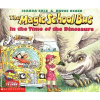 英文原版儿童书The Magic School Bus in the Time of Dinosaurs - Audio