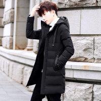 棉衣男中长款冬季2018新款韩版潮流帅气加厚棉袄外套男士冬装