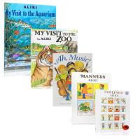 【全店300减100】Aliki 经典绘本5本套装 My Visit to the Aquarium My Visit