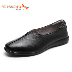 红蜻蜓男鞋商务休闲皮鞋秋冬鞋子男WTA7044
