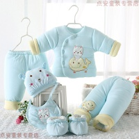 新生儿棉衣套装加厚男女宝宝衣服冬装婴儿保暖棉袄初生秋冬季
