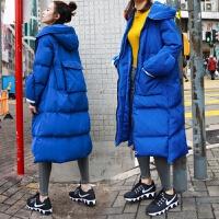 棉衣女中长款2017季宽松加厚面包羽绒大码棉袄外套