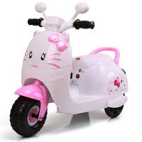 新款儿童电动三轮车儿童可坐人电动摩托车男女宝宝婴儿玩具车可充电电瓶车小孩自驾童车