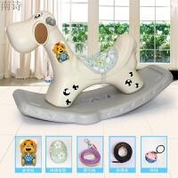 儿童小孩音乐小木马摇摇马塑料大号宝宝婴儿摇椅车周岁礼物玩具