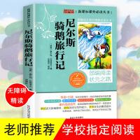 尼尔斯骑鹅旅行记 老师推荐名著三四五六年级儿童读物6-12岁小学生课外阅读书籍儿童文学故事书
