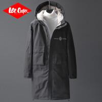 Lee Coope2019冬季新款个性时尚连帽棉服韩版青少年宽松男士棉袄外套男士