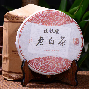 两片【4年陈期老白茶】2012年老白茶 福鼎白茶高山生态白茶 357克/片 d1