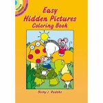 Easy Hidden Pictures Coloring Book(【按需印刷】)