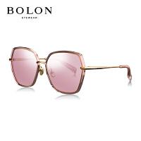 BOLON暴龙2018新款太阳镜女圆形金属框墨镜潮流时尚眼镜BL6061