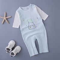 婴儿连体衣男女宝宝夏季空调家居服新生儿夏装内衣夏天衣服