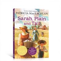 英文原版 Sarah, Plain and Tall 又丑又高的莎拉 1986年纽伯瑞文学金奖 提升儿童英语阅读水平故