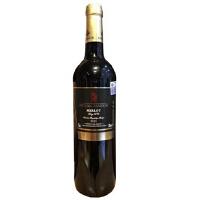 卡斯特 288元/瓶 度雅克美乐干红葡萄酒 法国原瓶进口 750ml
