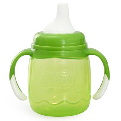 贝亲magmag婴儿吸管杯 宝宝鸭嘴学饮杯 奶嘴喝水杯儿童水杯带手柄