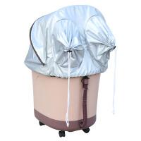 家用全自动按摩加热洗脚盆电动泡脚盆深桶足疗器熏蒸足浴盆 电动版