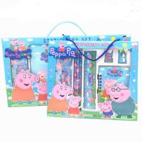 幼儿园小学生礼物儿童圣诞节礼物奖品学习用品文具礼盒套装