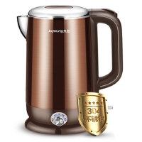 Joyoung/九阳 K17-W6电热水壶304食品级不锈钢家用控温烧开水煲