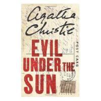 英文原版小说 Evil under Sun TV Tie in Poiro 阳光下的罪恶 阿加莎侦探系列