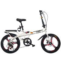20190708131538891 折叠自行车大人男女式16/20寸变速减震小型超轻便携儿童学生单车