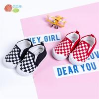 贝贝怡婴儿宝宝软底学步鞋新款男女童防滑不掉鞋学走路鞋子