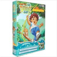 原装正版 爱探险的朵拉兄妹篇 迪亚哥 雨林里的狂想曲 第5部 5DVD儿童卡通片 动画片
