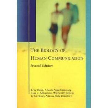 【预订】The Biology of Human Communication 美国库房发货,通常付款后3-5周到货!