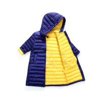 儿童棉袄女童中长款连帽羽绒男女宝宝棉衣韩版中大童冬装