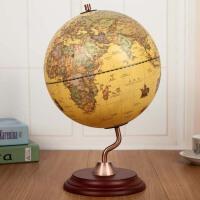 办公室桌面家居装饰品摆设复古地球仪书房书架书柜摆件