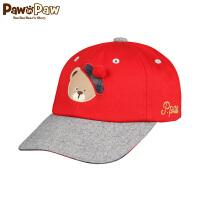 【秒杀价:52元】Pawinpaw宝英宝卡通小熊童装通用款棒球帽
