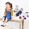 儿童袜  3-5-7-9岁全棉秋冬中筒儿童袜子宝宝袜子5双