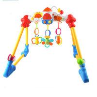 宝宝健身架音乐架 多功能灯光站立健身器玩具 宝宝健身架音乐架