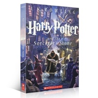 【进口正版包邮】Harry Potter and the Sorcerer 美版 哈利波特与魔法石 英文原版经典畅销奇